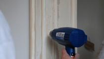 Neue Farbe braucht die Tür !